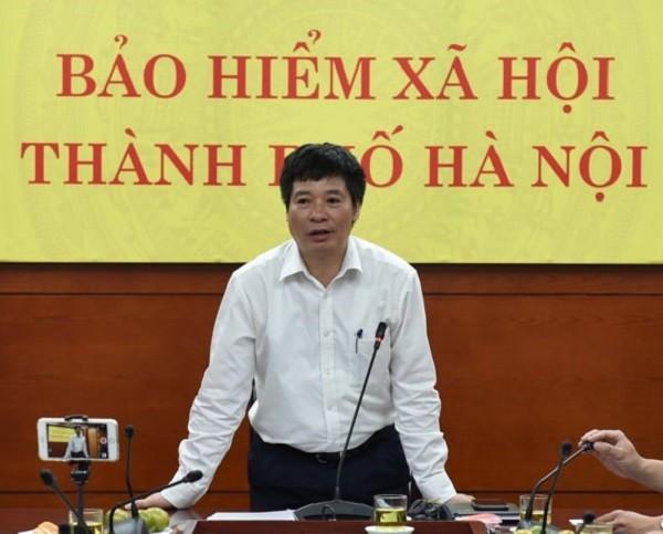 Phó Giám đốc BHXH TP Hà Nội Vũ Đức Thuật thông tin về tình hình nợ BHXH