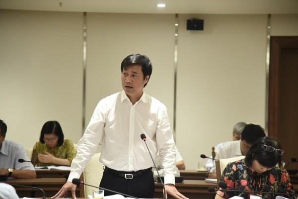 Thứ trưởng Bộ Xây dựng Nguyễn Tường Văn góp ý