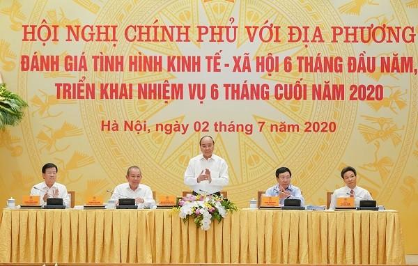 Thủ tướng Chính phủ Nguyễn Xuân Phúc chủ trì hội nghị