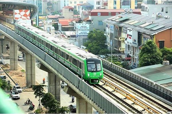 Cử tri và nhân dân quan tâm đến tiến độ dự án đường sắt đô thị Cát Linh - Hà Đông