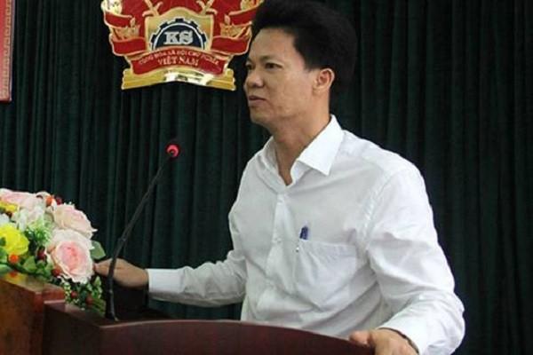 Ông Lê Cường - Bí thư Quận ủy Hà Đông vừa bị kỷ luật Cảnh cáo