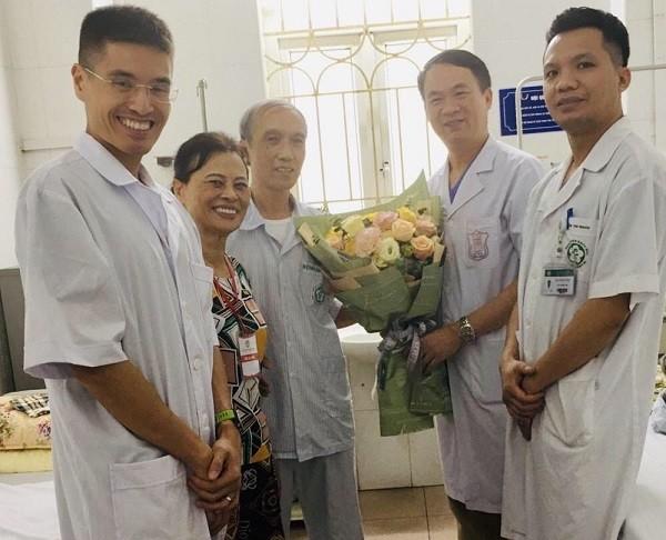 Bệnh nhân được ra viện chỉ sau vài ngày can thiệp