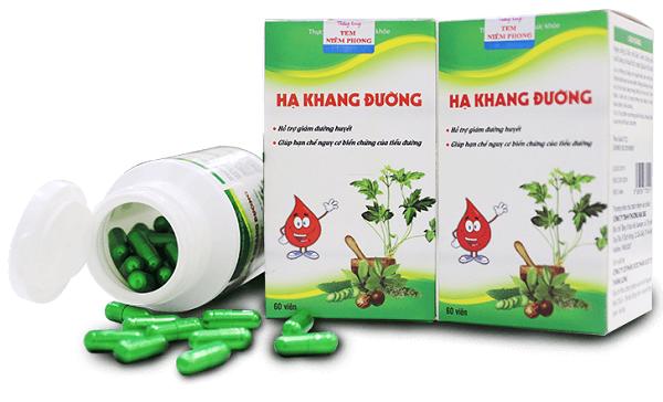 Sản phẩm Hạ Khang Đường được quảng cáo trên mạng