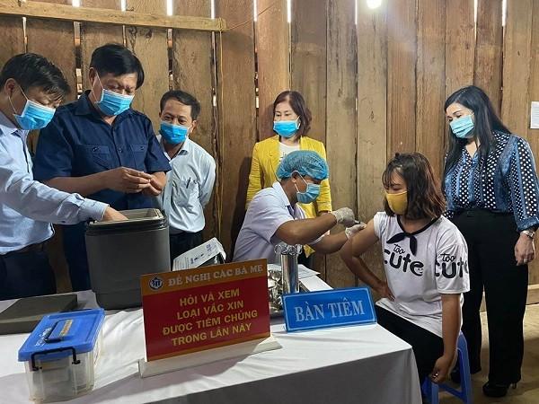 Bộ Y tế triển khai chiến dịch tiêm vaccine phòng bạch hầu tại khu vực Tây Nguyên