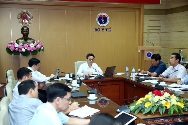 Phó Thủ tướng Vũ Đức Đam chủ trì cuộc họp Ban Chỉ đạo Quốc gia phòng chống dịch Covid-19 ngày 24-7
