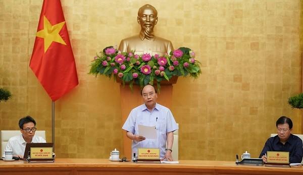 Thủ tướng Nguyễn Xuân Phúc chủ trì cuộc họp