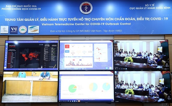 Bộ Y tế họp trực tuyến với các bệnh viện về điều trị Covid-19