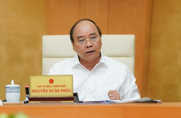 Thủ tướng Nguyễn Xuân Phúc chủ trì cuộc họp về Covid-19 sáng nay