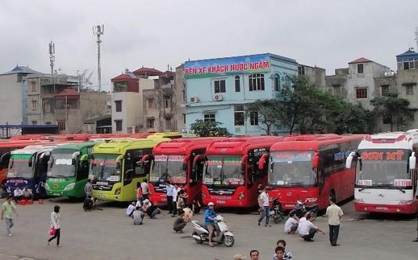 Hà Nội thông báo chuyến xe khách từ Đà Nẵng về bến xe Nước Ngầm có bệnh nhân Covid-19