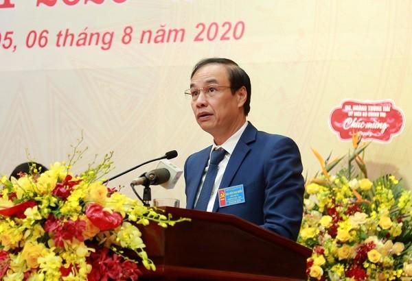Phó Bí thư Thành ủy Đào Đức Toàn phát biểu chỉ đạo đại hội