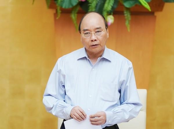 Thủ tướng Nguyễn Xuân Phúc kết luận cuộc họp sáng 7-8