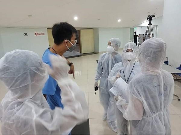 Bệnh viện dã chiến điều trị bệnh nhân Covid-19 tại Đà Nẵng đã sẵn sàng tiếp nhận bệnh nhân
