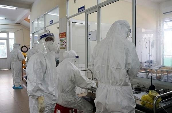 Khu điều trị bệnh nhân Covid-19 tại Đà Nẵng
