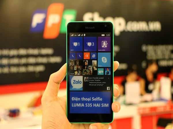 Lumia 535 vẫn hút khách