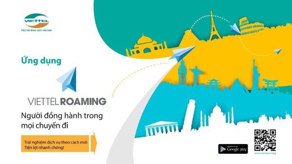 Quản lý cước chuyển vùng quốc tế với ứng dụng Viettel Roaming ảnh 1