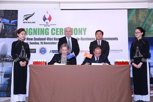Việt Nam- New Zealand ký kết thỏa thuận hợp tác trên nhiều lĩnh vực ảnh 1