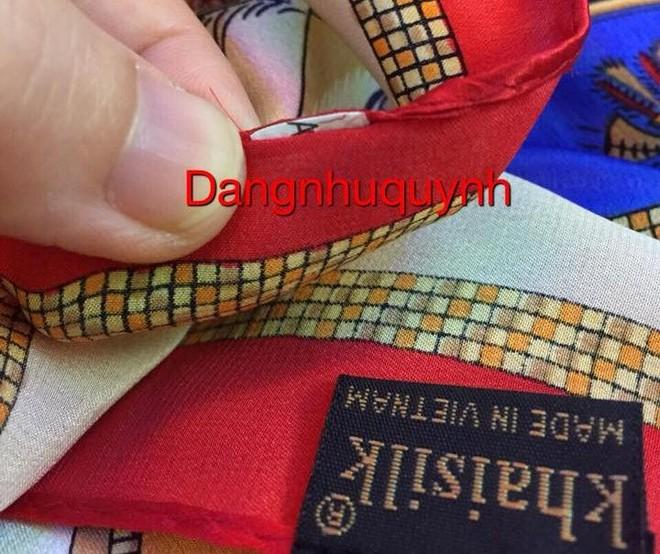 Khăn lụa Khaisilk đính nhãn hàng Trung Quốc: Doanh nhân Hoàng Khải thu hồi sản phẩm, xin lỗi khách hàng ảnh 1