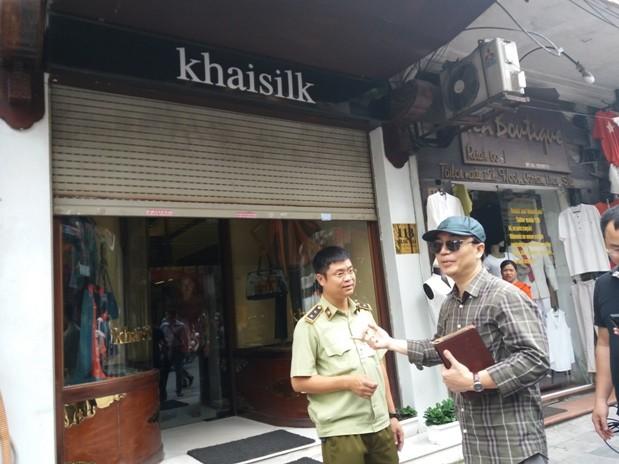 Cửa hàng Khaisilk 113 Hàng Gai