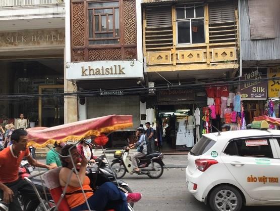 Cửa hàng Khaisilk số 113 Hàng Gai