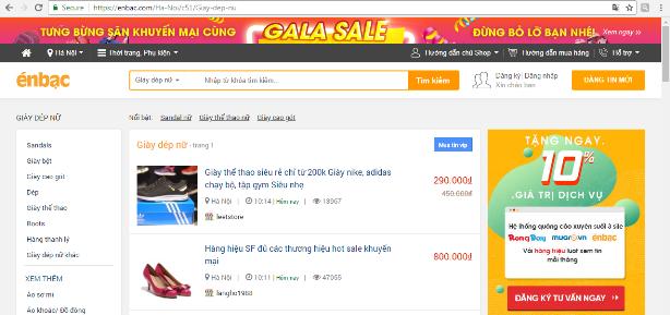 """Website thương mại điện tử: Thiên đường của """"hàng hiệu"""" giá bèo ảnh 1"""