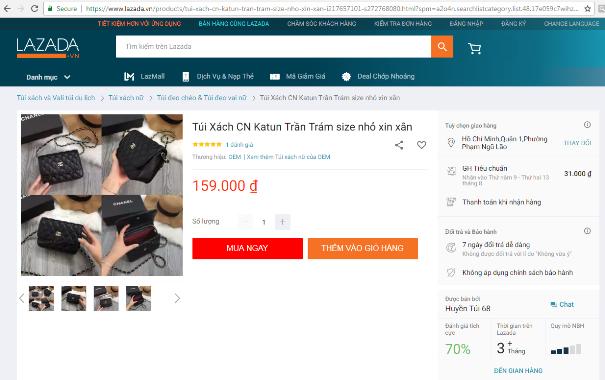 """Website thương mại điện tử: Thiên đường của """"hàng hiệu"""" giá bèo ảnh 2"""