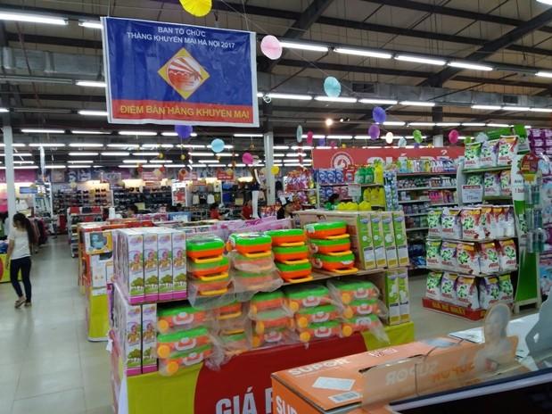 Tháng Khuyến mại Hà Nội mang đến những ưu đãi hấp dẫn cho người tiêu dùng Thủ đô