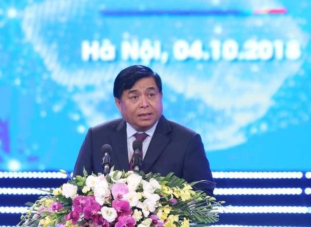 Bộ trưởng Bộ KH-ĐT Nguyễn Chí Dũng đánh giá cao vai trò của FDI đối với kinh tế Việt Nam trong 30 năm qua (ảnh: Phú Khánh)