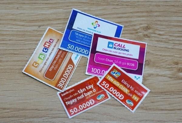 Khuyến mại thẻ nạp sắp về mức tối đa 50% giá trị thẻ nạp?