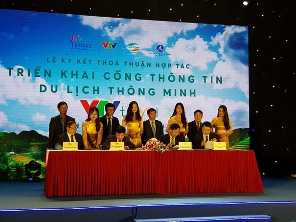 Ký kết triển khai cổng thông tin du lịch thông minh VTV Travel