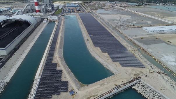 Nhà máy điện mặt trời tại Bình Thuận góp phần tăng cường phụ tải cho hệ thống điện quốc gia