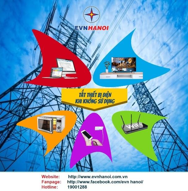 EVN HANOI khuyến cáo khách hàng sử dụng điện tiết kiệm, hiệu quả trong mùa hè