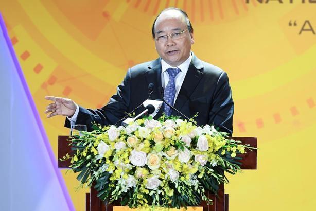 Thủ tướng Nguyễn Xuân Phúc khẳng định vai trò quan trọng của doanh nghiệp công nghệ trong việc xây dựng đất nước Việt Nam hùng cường