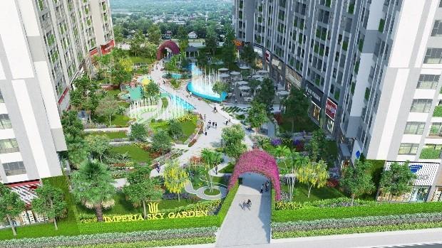 Không gian sống xanh là tiêu chí xây dựng mà MIKGroup hướng tới