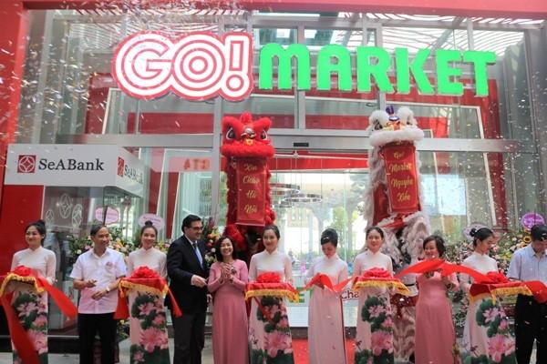 Cắt băng khai trương siêu thị GO! Market Nguyễn Xiển