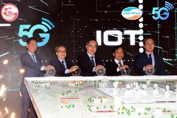 Chính thức phát sóng 5G tại TP Hồ Chí Minh