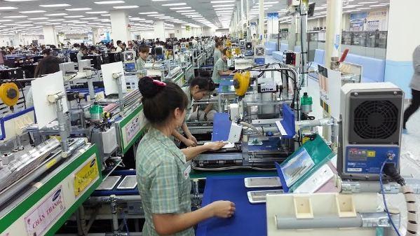 Nhóm hàng điện thoại và linh kiện xuất khẩu luôn đứng đầu về kim ngạch