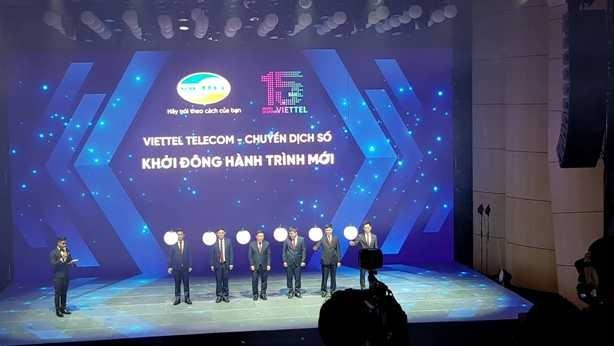 Viettel Telecom khởi động hành trình mới