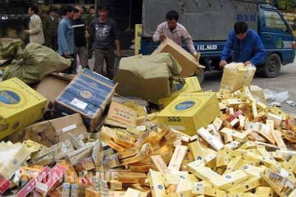 Xử lý thuốc lá ngoại nhập lậu chưa kịp thời, gây lãng phí