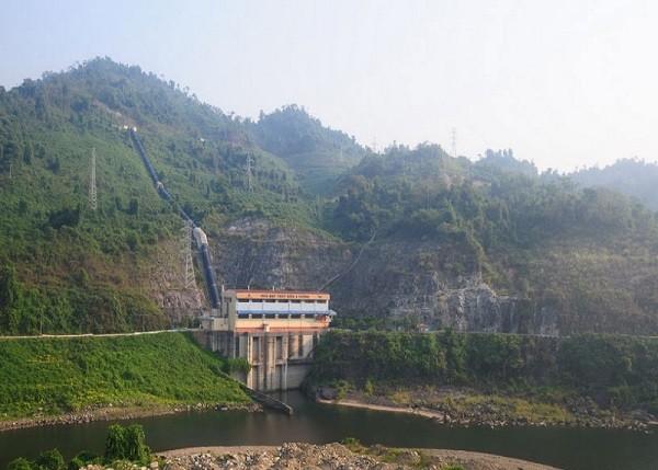 Mực nước tại các hồ thủy điện hiện ở mức rất thấp
