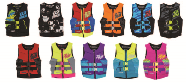 Sản phẩm áo phao bơi không đảm bảo an toàn (ảnh: Cục CT&BVNTD)