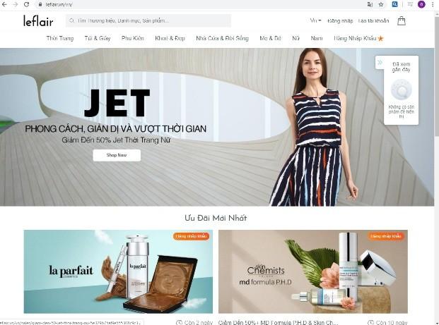 Leflair chia tay người tiêu dùng Việt Nam sau hơn 4 năm hoạt động