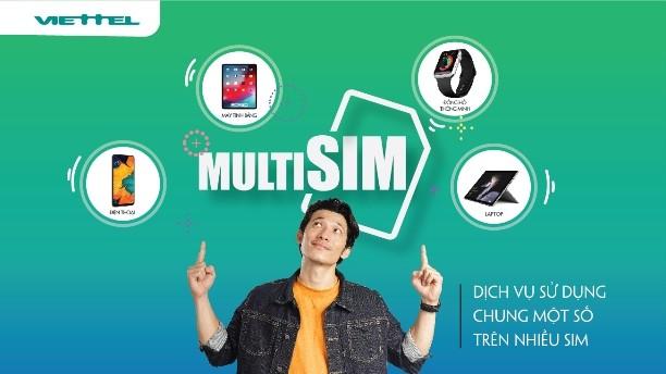 MultiSIM có thể dùng cho nhiều thiết bị