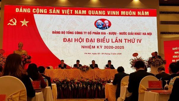 Habeco tổ chức thành công Đại hội Đảng bộ Tổng công ty lần thứ IV, nhiệm kỳ 2020-2025