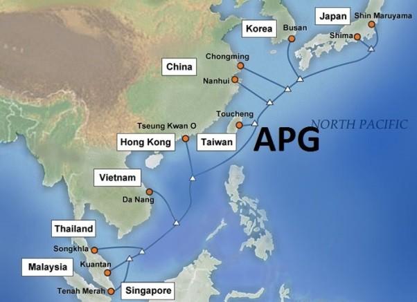 Internet Việt Nam đi quốc tế bị ảnh hưởng bởi sự cố 2 tuyến cáp quang biển