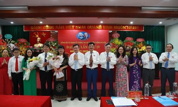 Đại hội bầu 10 đồng chí vào Ban Chấp hành Đảng bộ cơ quan Sở TT-TT thành phố Hà Nội nhiệm kỳ 2020-2025