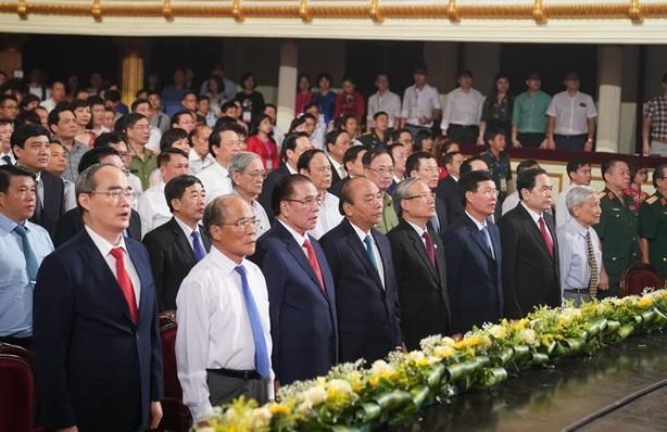 Lãnh đạo Đảng, Nhà nước dự lễ kỷ niệm 95 năm Ngày báo chí cách mạng Việt Nam và trao giải Báo chí quốc gia lần thứ XIV năm 2019