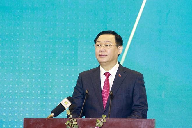 Bí thư Thành ủy Hà Nội khẳng định Hà Nội là điểm đến an toàn với các nhà đầu tư (ảnh: Phú Khánh)