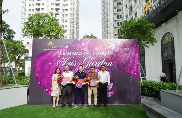 Lễ bàn giao căn hộ dự án Iris Garden