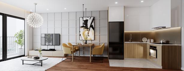 """""""Săn"""" căn hộ hoàn thiện với giá hơn 1 tỷ đồng"""