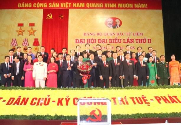 Ông Trần Thế Cương được bầu làm Bí thư Quận ủy Bắc Từ Liêm